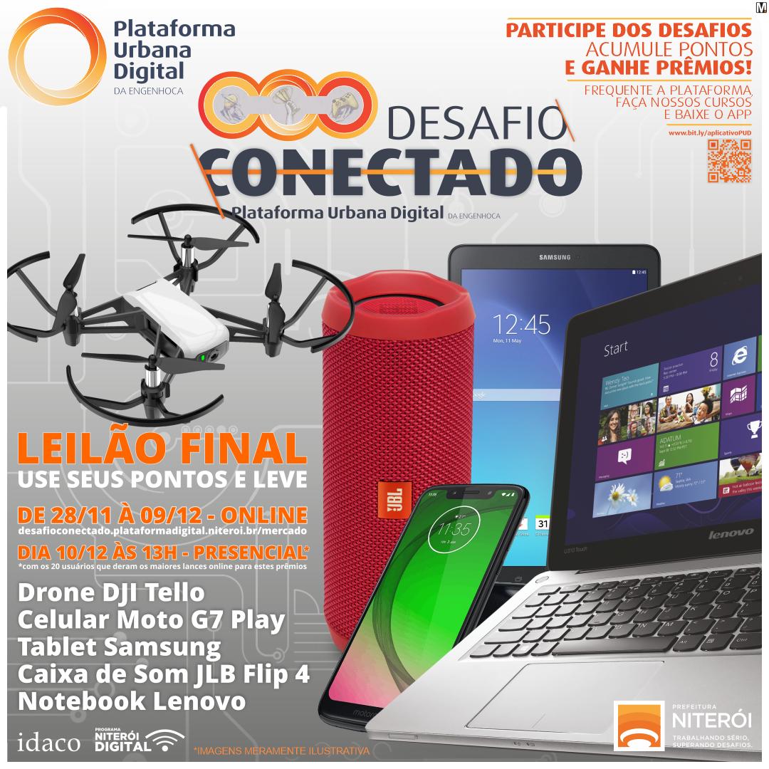 Leilão final- Drone DJI Tello